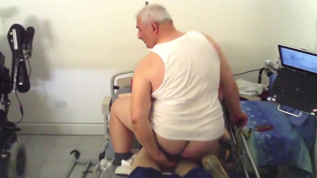 Fat chubby old Phono sex video