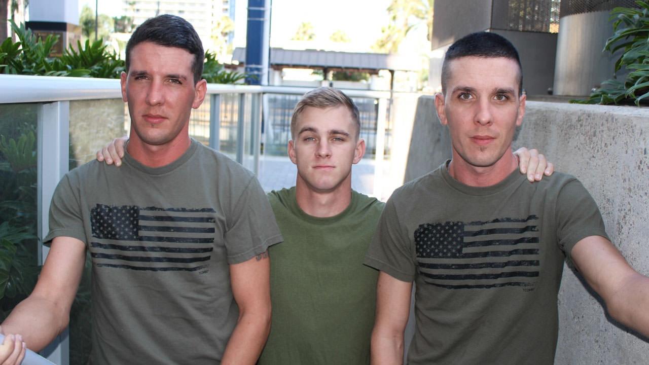 Ryan Jordan, Michael Stax Jacob Stax Military Porn Video - ActiveDuty Ass fetish lesbian toying