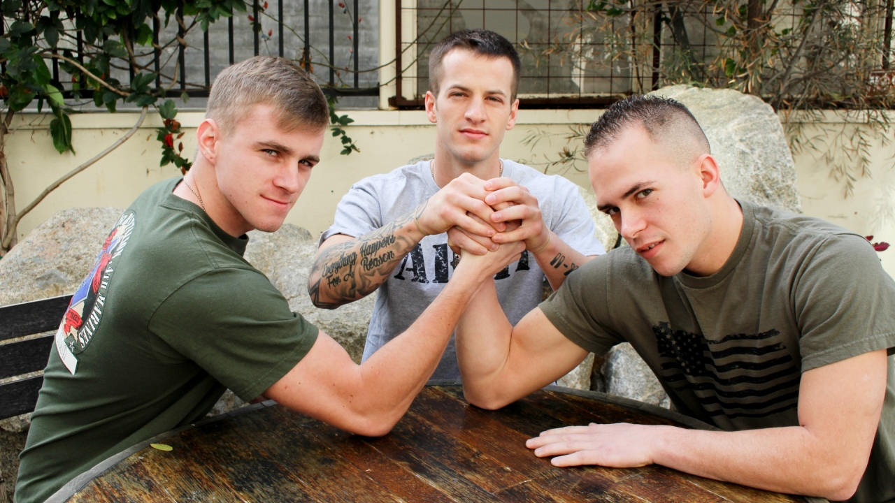 Richard Buldger, Ryan Jordan Quentin Gainz Military Porn Video - ActiveDuty asian men and black women