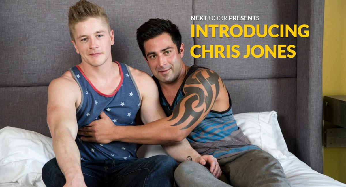 Chris Blades Chris Jones in Introducing Chris Jones - NextDoorBuddies Busty milf and cute teen interracial sex