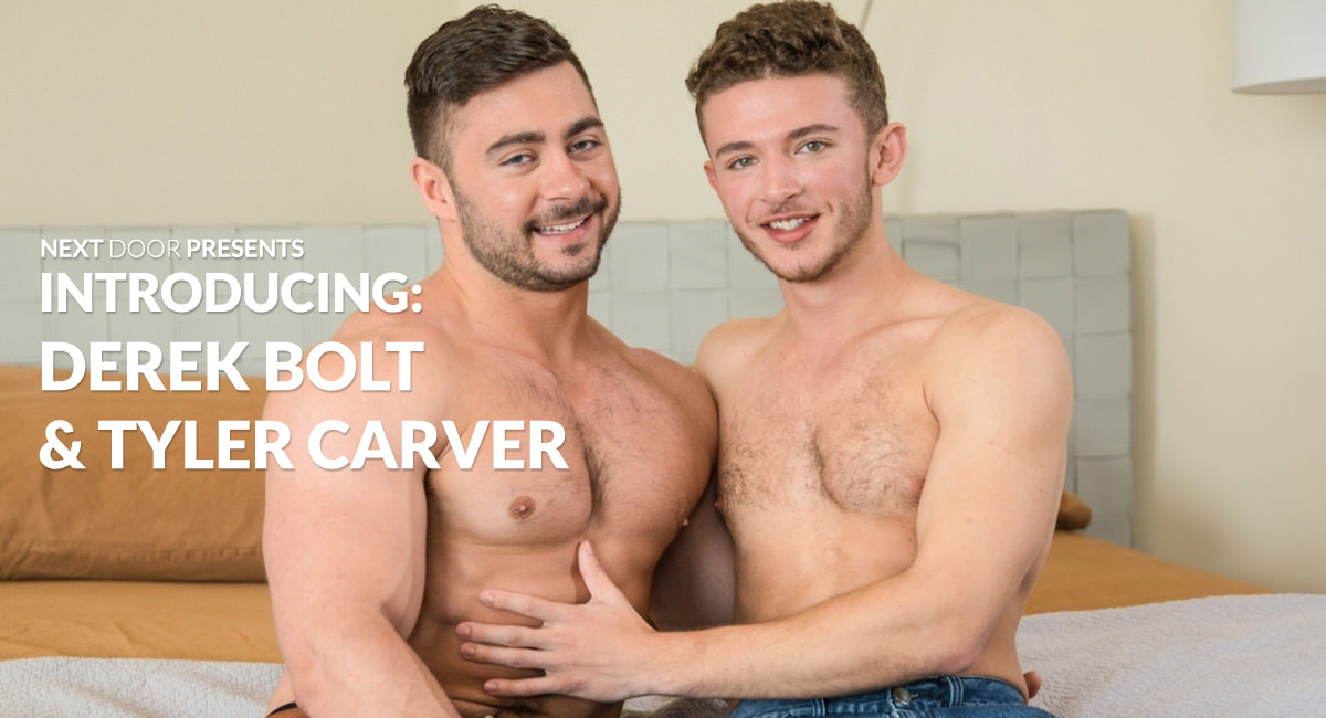 Derek Bolt Tyler Carver in Introducing Derek Bolt Tyler Carver - NextDoorBuddies Blonde milf les scissors