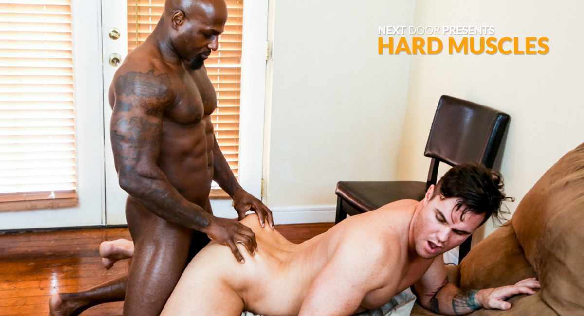 Beau Reed Darion in Hard Muscles - NextDoorEbony She just wants to be friends but she likes me