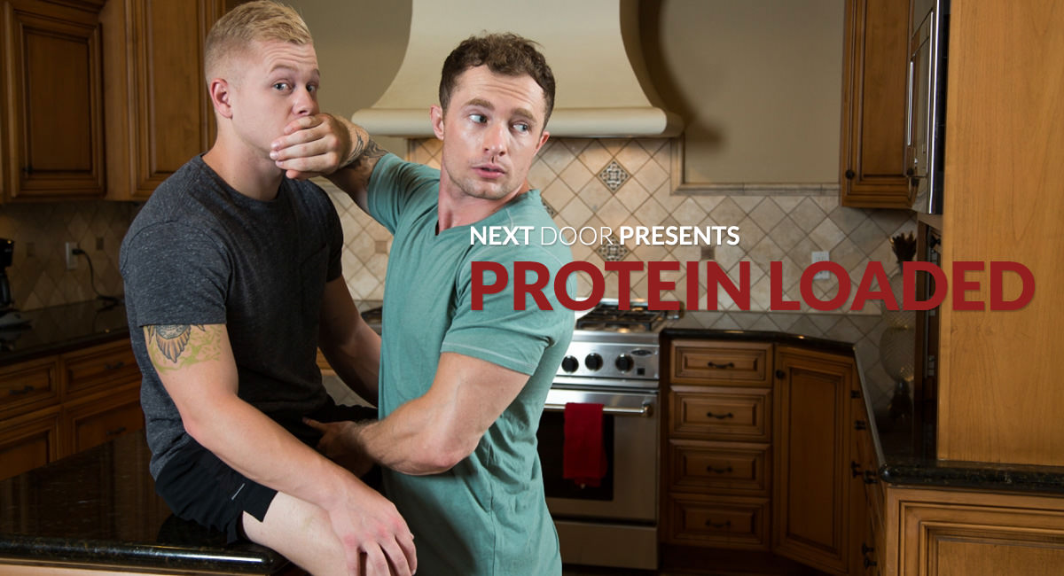 Markie More Leo Luckett in Protein Loaded - NextDoorStudios Wolverine XXX Scene