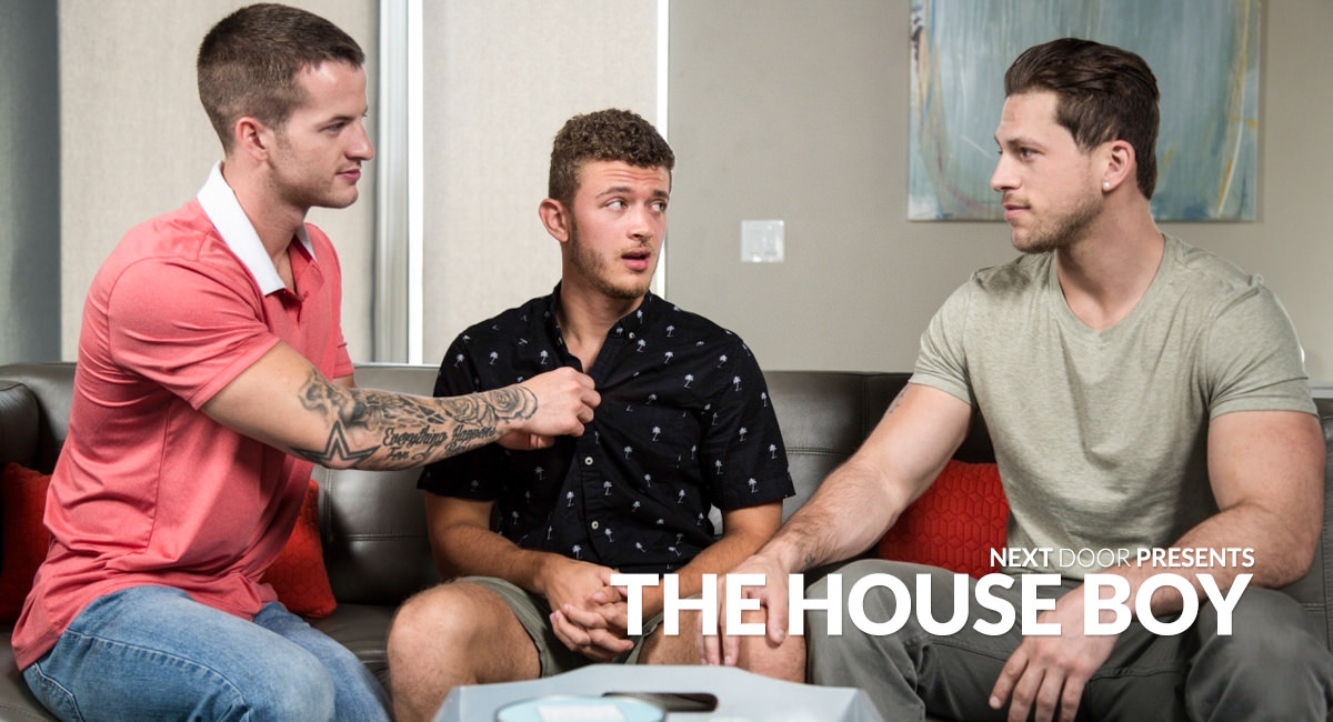 Quentin Gainz Roman Todd Tyler Carver in The House Boy - NextDoorStudios sex with the new neighbor porn captions