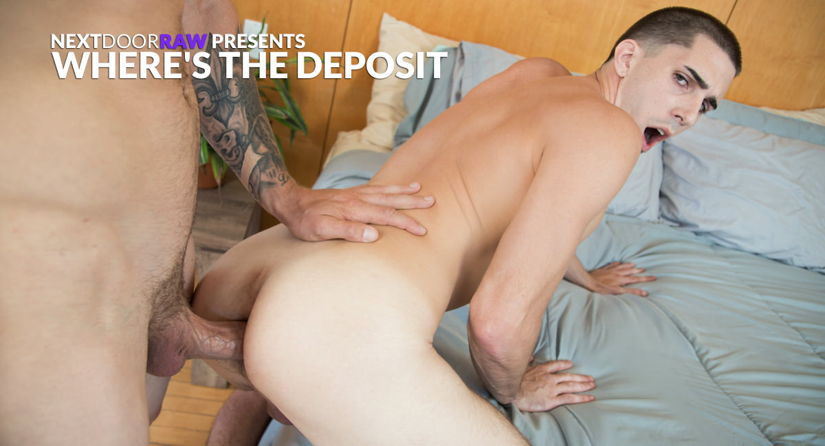 Mark Long Damien Kyle in Wheres The Deposit - NextDoorStudios Hookup a player relationships suck the life
