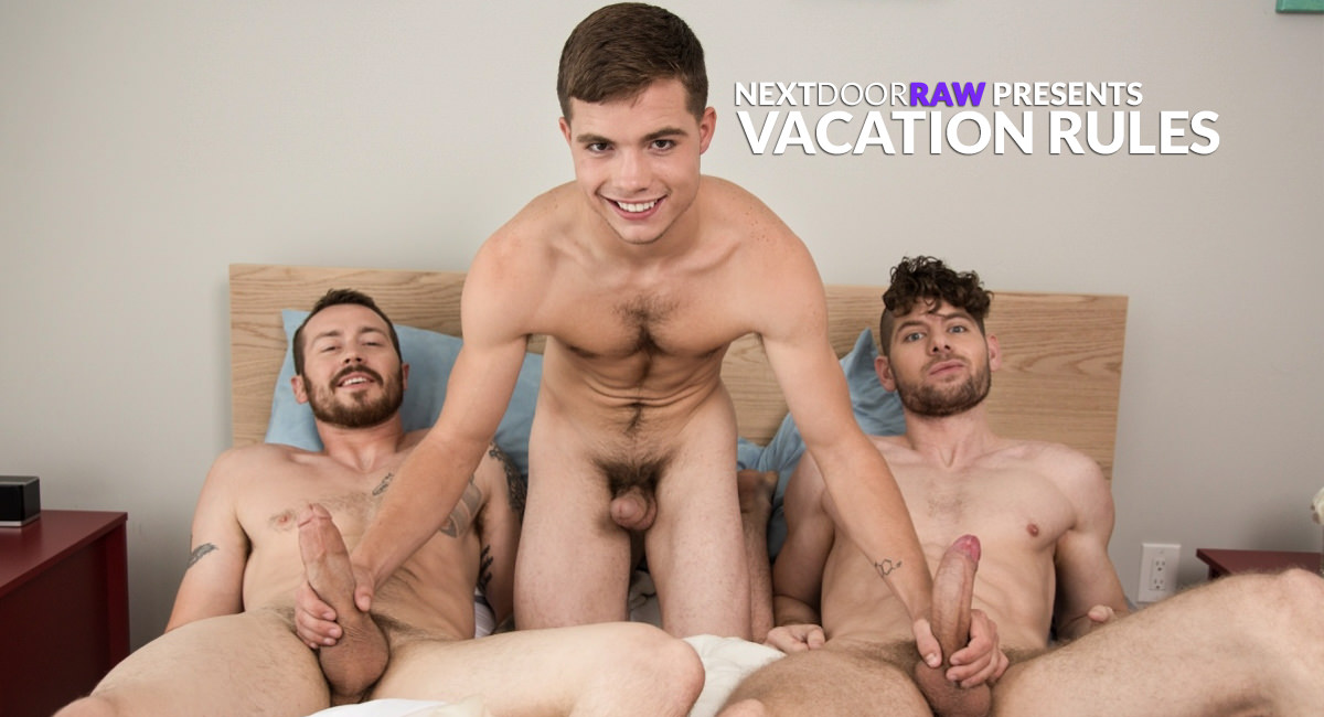 Mark Long Dakota Young Connor Halsted in Vacation Rules - NextDoorStudios Foot fetish personals