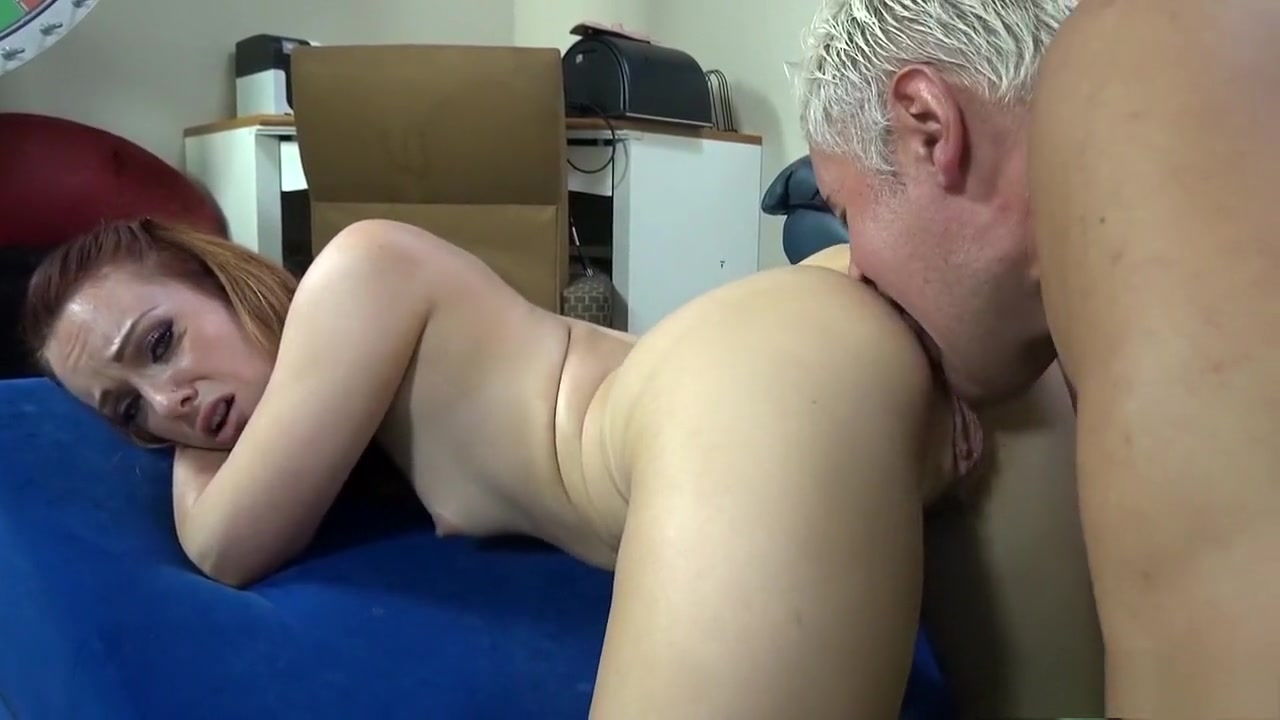 Petite redhead with perky titties fucks a hard pole in every position Kevin ramos muscle hunk