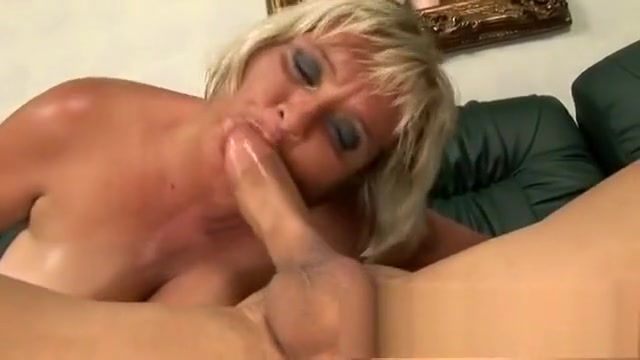 Fat mature blonde Kokai blows him and rides his dick like a horny bitch