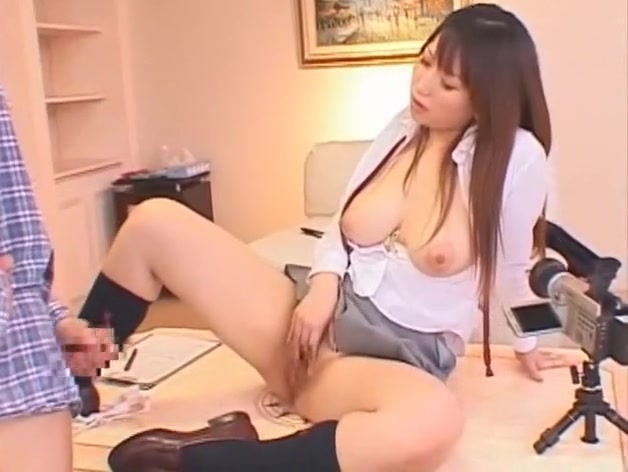 Crazy Japanese model Ai Sayama in Incredible Big Tits, Masturbation JAV scene Teen pussy with braces gifs