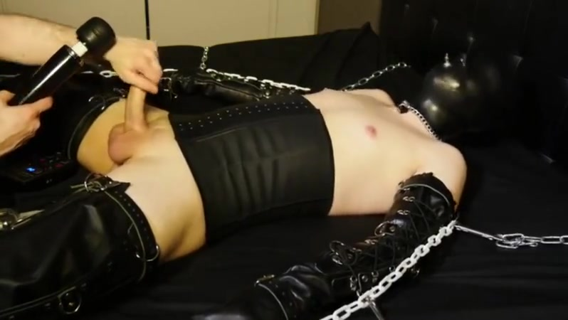 Horny gay clip with BDSM scenes sexy sexy hot hot