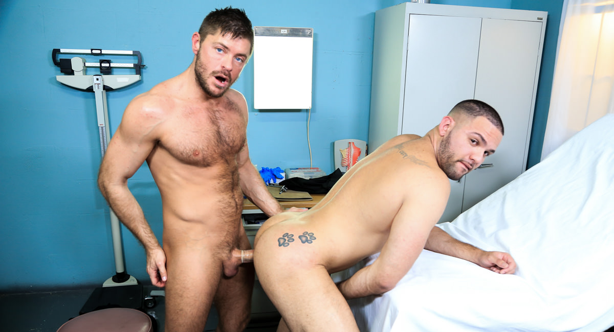 Muscle Tension Video - PrideStudios Gay interracial cum shots sex