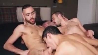 Amazing gay scene with Bareback, Gangbang scenes wanking on the bus