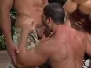 Exotic gay clip with Outdoor, Group Sex scenes Sucking my cock in Kerkira