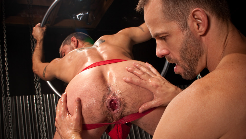 Michael Brandon Caedon Chase in Fistpack 31: Fist My Gaping Hole - ClubInfernoDungeon Red hair big ass