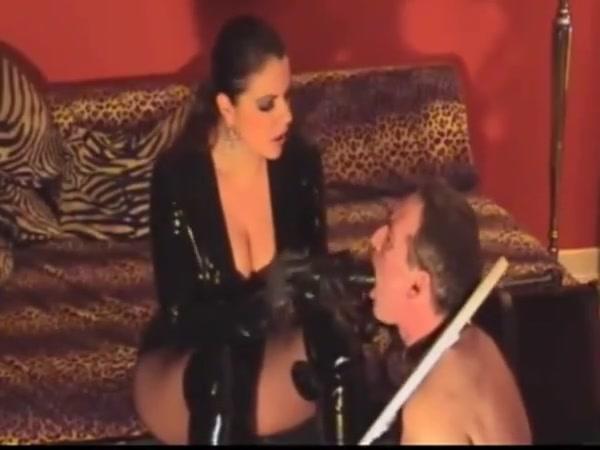 Fabulous Strapon, Latex sex clip