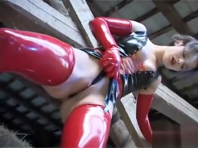Lustful babes in latex outfits Sandra and Diana engage in lesbian sex mp4 hentai sample videos