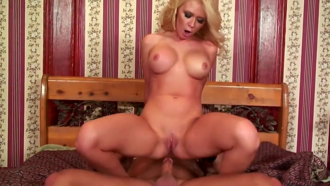 Dylan Rileys boobs bounce and jiggle as she wildly rides a big stick Triple Black Penetration