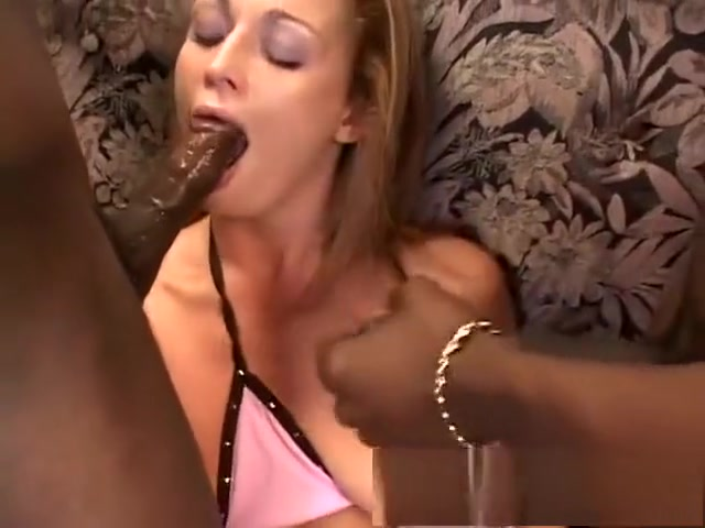Horny redhead blows black dick and gets her ass fucked and a DP flat chested cuties giving blowjobs cum inside mouth