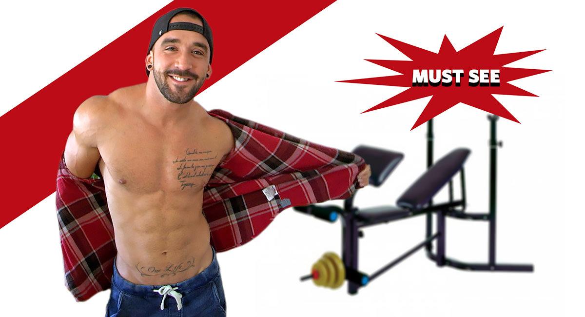 Zacks Second Hand Bargain on Maskurbate Big guy dating skinny girls in leggings and jordans