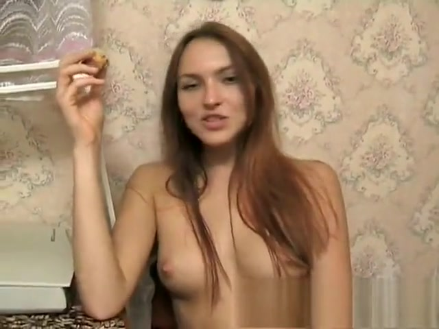 Striking young redhead sensually puts her wonderful body on display About me examples for hookup sites female