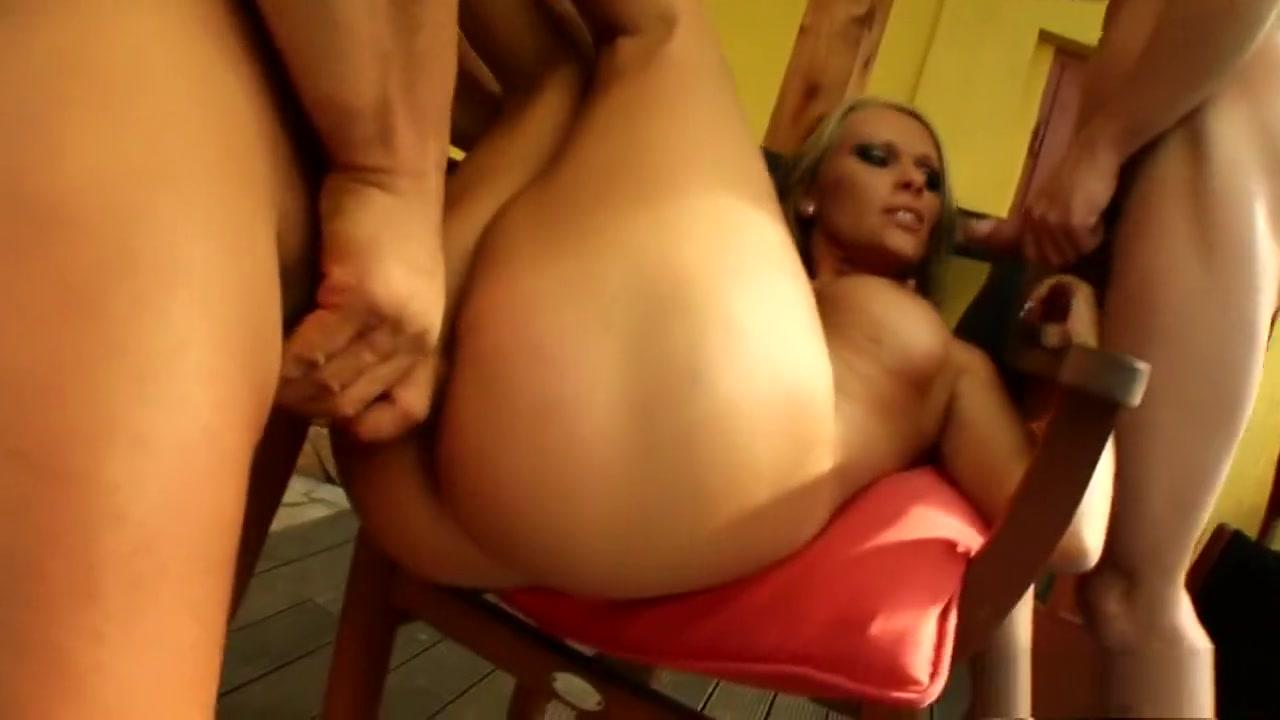 Sensuous blonde milf Vivien plays out her wild fantasy with two guys yasmine de leon nude