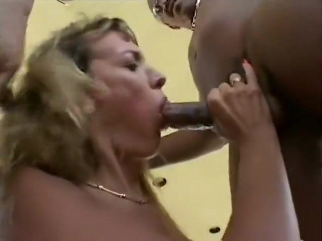 Julie Faith provokes dirty male Julian St Jox and his companion as well