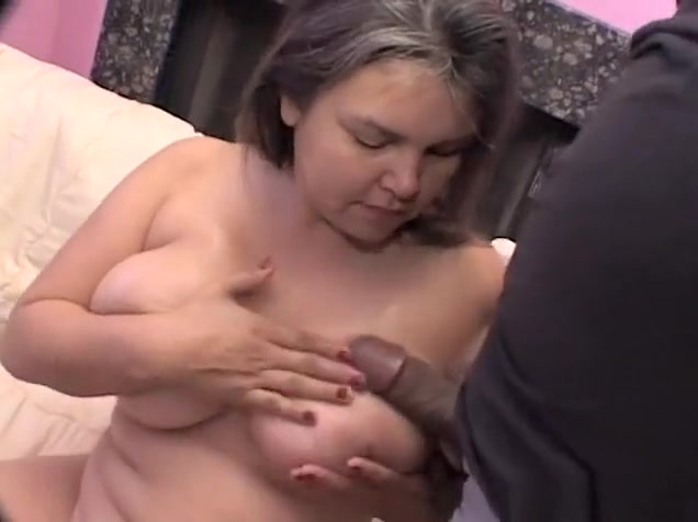 Chubby amateur with gigantic tits gets fucked in her hairy cunt Black ebony blow jobs