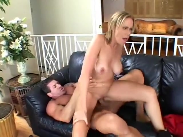 A fine blonde housewife gets a strangers hot dick inside her