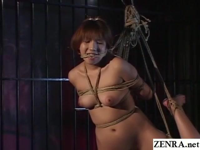 Traditional JAV shibari rope binding with naked schoolgirl Beautiful women having sex together