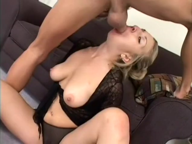 Comely chubby babe with big tits gets her pussy kissed and banged