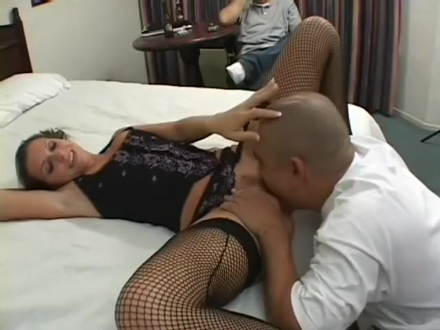 Lusty Courtney Cummz wears hot fishnets as her twat gets wrecked Sinn sage and amber