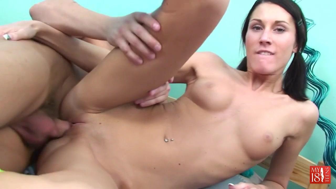 Brunette Devon jumps on the pen girlfriend and boyfriend kiss video