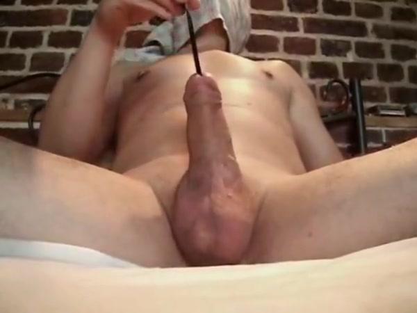 Spatula handle in cock rotating swelling spreading urethra Becoming an amateur designer