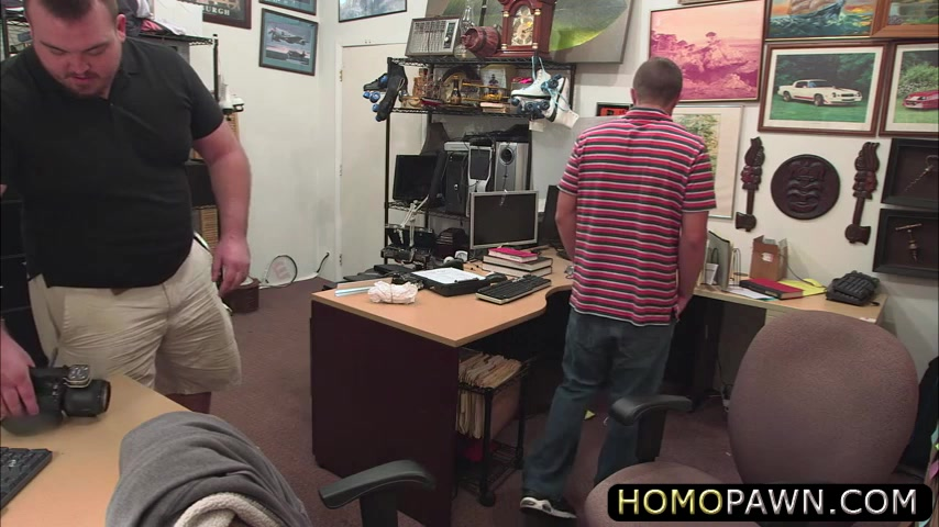 Straight handsome guy gets slammed in the ass by huge rock Crossdress in seamless pantyhose