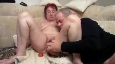 Older on the couch part 2 Girls Kissing And Licking Boobs