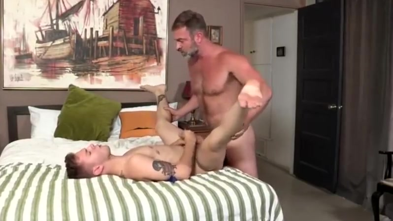 The father punishes his son. Naked Ghosts