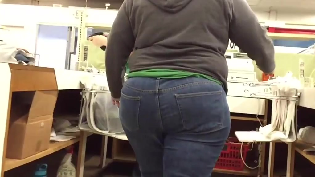 Bbw pawg bubble butt in jeans bonus homemade sex with white women