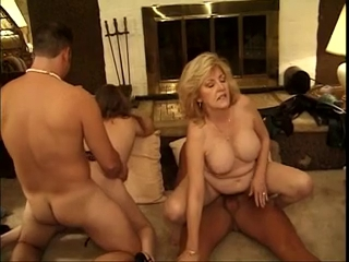 Classic Hawt Older Cougars Foursome im nervous about losing my virginity