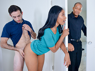 Jenna Foxxx in Fucking Behind My Overprotective Fathers Back - BlackValleyGirl Homemade sexy milf porntubes
