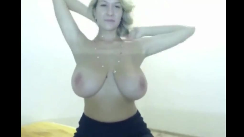 Most perfect big natural tits shaking sexy cam girl gerda Naked women with huge boobs in front walking in nature