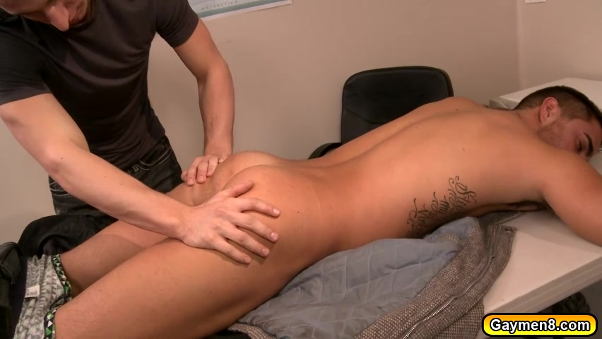 Massage turns into an Anal Fuck rug latex backing disintegrating