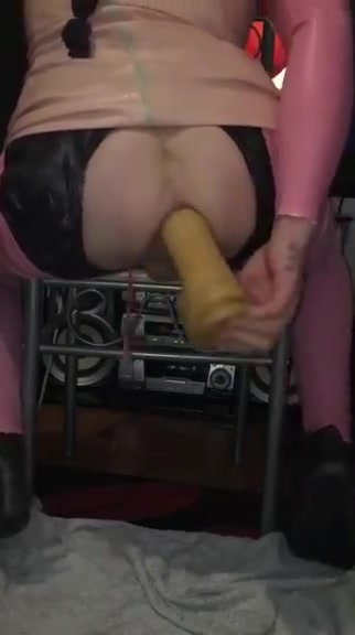 Another latex dildo fu Want to have some drinks in Spa