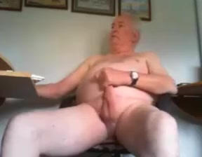Grandpa jerking off his cock How to have long time sex naturally