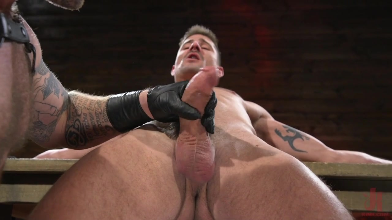 Colby Jansen,Sean Maygers in Newcomer Sean Maygers Gets Bound and Fucked By Huge Stud Colby Jansen - BoundGods Naked girls in jackets