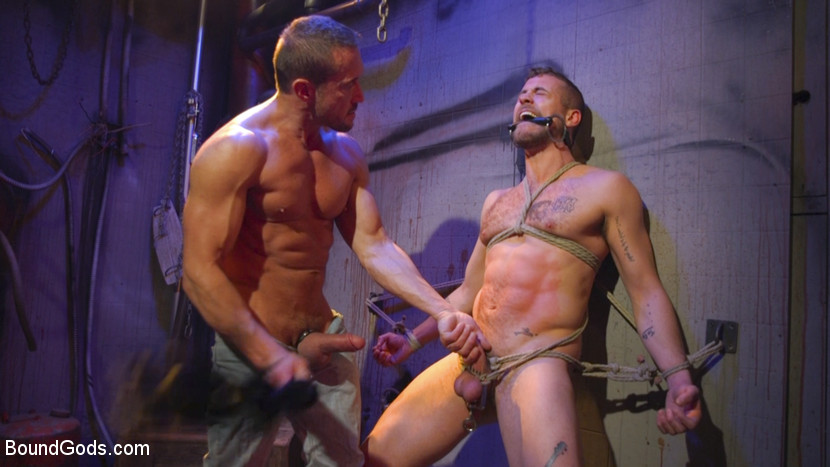 Jay Austin,Myles Landon in Street Meat: Back Alley Bondage - BoundGods Britney facial whore galleries