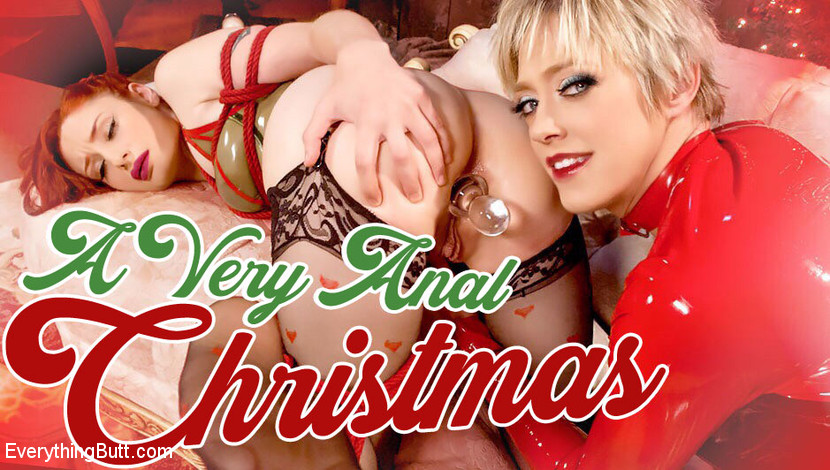 Dee Williams,Violet Monroe in A Very ANAL Christmas with Dee Williams and Violet Monroe - TheTrainingofO