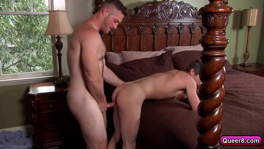 Paul Wagner hired Johnny Rapid as his new houseboy. ebony pussy getting hurt