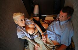 Mila Milan in Anal Elevator - MagmaFilm