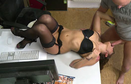 Holly Hunter in German Office Anal Pounding - MMVFilms Granny massage xxx