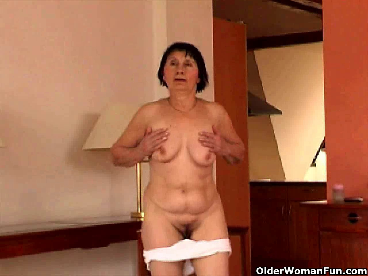 Over 70 granny does striptease and masturbates Teen wants to be cheerleader Bear Necessities